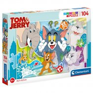Puzzle 104 elementy - Tom & Jerry (27518)