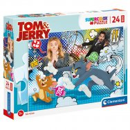 Puzzle 24 elementy MAXI - Tom & Jerry (24212)