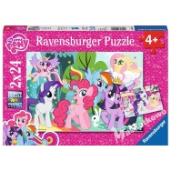 Puzzle 2x24 - My little pony 091058