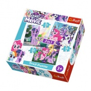 Puzzle 3w1 - My Little Pony 34823