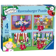 Puzzle 4w1 - Ben i Holly 069576