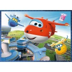 Puzzle 4w1 - Super Wings - 34280