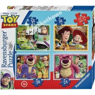 Puzzle 4w1 - Toy Story 071081