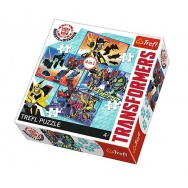 Puzzle 4w1 - Transformers - 34287