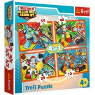 Puzzle 4w1 - Transformers: Rescue Bots - 34313