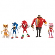 Sonic Boom - Figurki 5pak - Sonic, Knuckles, Tails, Amy, Dr.Eggman