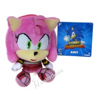 Sonic the Hedgehog - maskotka Amy 18cm T22326