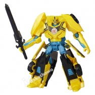 Transformers - Robots in Disguise - seria Warriors - figurka Bumblebee (Night Strike)
