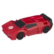 Transformers - Robots in Disguise - seria 1 Step - figurka Sideswipe (Combiner Force)