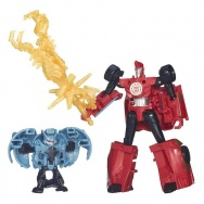 Transformers - Robots in Disguise - zestaw bojowy - Sideswipe + Anvil