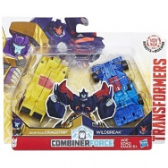 Transformers - Robots in Disguise - seria 1 Step - Dragstrip + Wildbreak (Combiner Force)