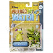 Where\'s My Water? - komplet dwóch figurek: krokodyl Allie i Swampy